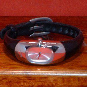 Black Nike WR0102 Analog Sports Watch